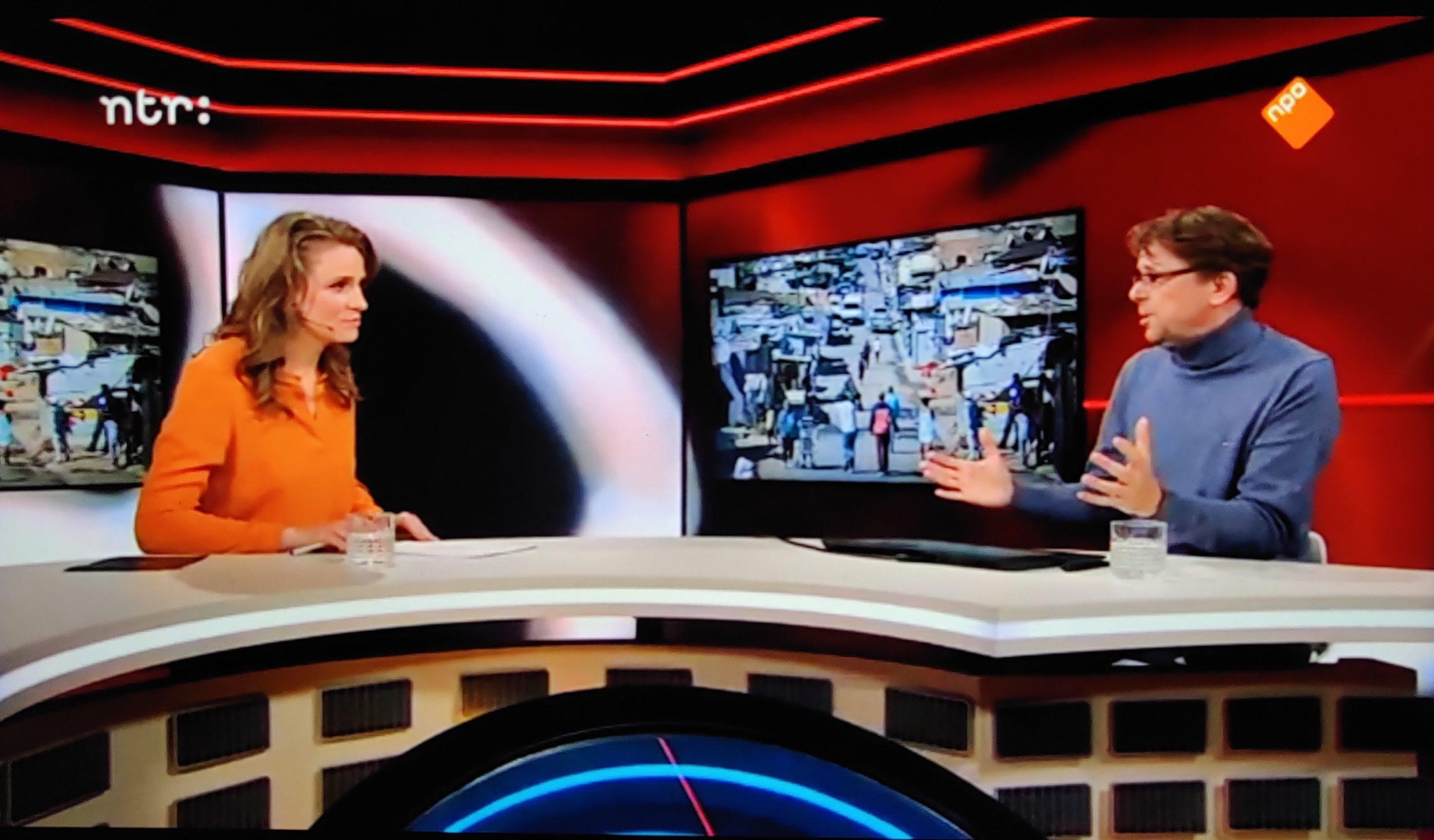 JLI's Dr Tobias Rinke de Wit on NTR: ATLAS: Covid-19 in Africa